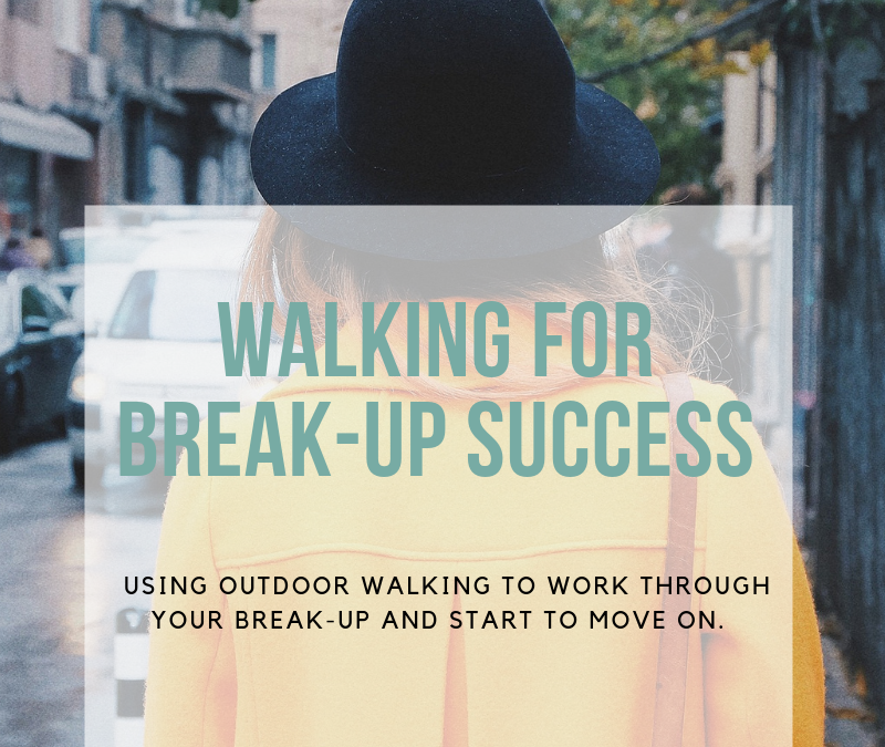 Walking for break-up success