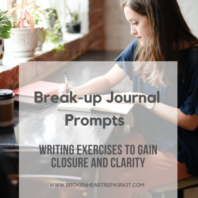 Break-up journal prompts to help you gain closure