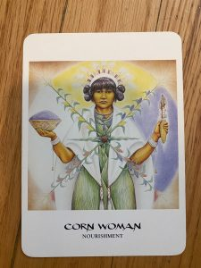Corn-woman